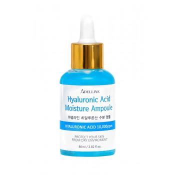 Ампула-сыворотка с гиалуроновой кислотой Adelline Hyaluronic Acid Moisture Ampoule 8809793660109