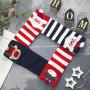 Жіночі бавовняні шкарпетки зі звірятами Новий Рік 826