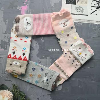 Жіночі короткі шкарпетки з вушками 995