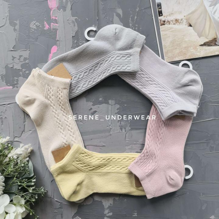 Женские короткие носочки дезодорированные 1151